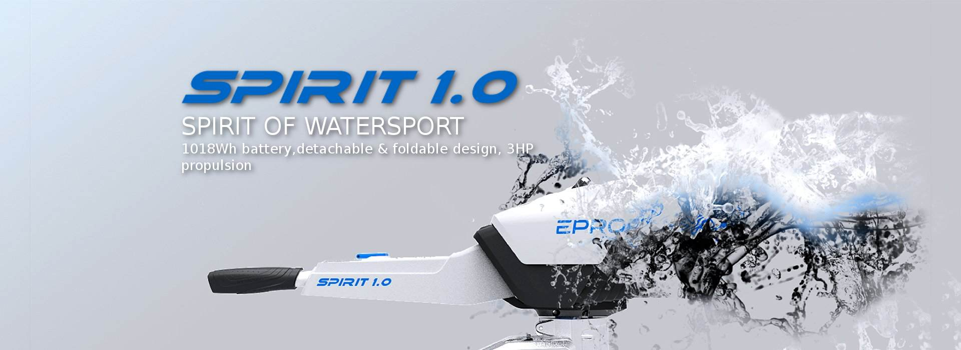 Epropulsion Spirit 1.0 Dıştan Takma Elektrikli Motor